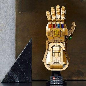 售价€59.91 官网价格€69.99LEGO 76191 复仇者联盟 无限手套预售 一次集齐所有宝石