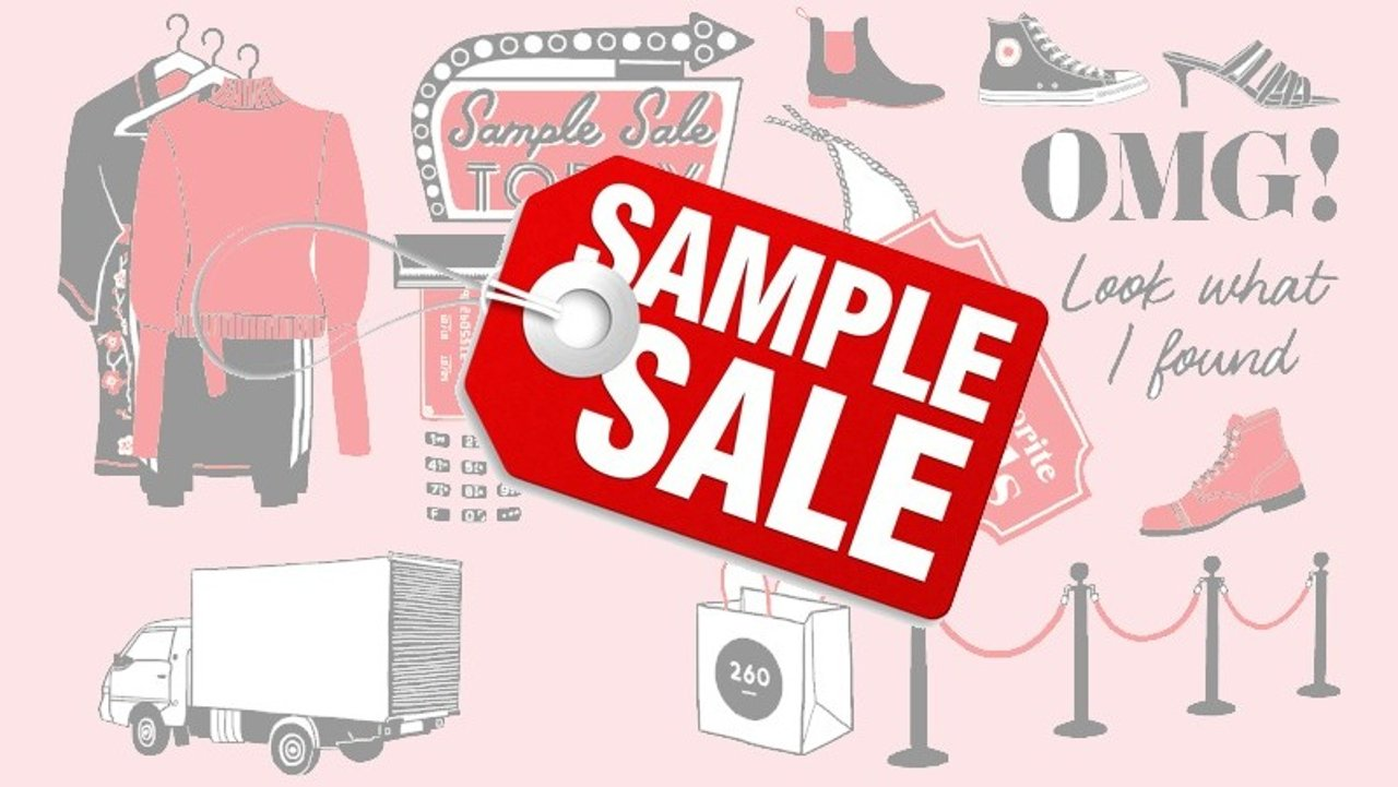 你想知道的sample sale信息全搜罗   手把手教你玩转ss