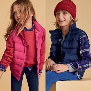 Uniqlo Kids Light Warm Padded Vest