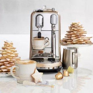 低至3折+最高享7折 $314收Creatista PlusBloomingdale's 精选Nespresso 胶囊咖啡机促销