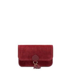 Cambridge SatchelTassel 麂皮手包(红宝石)