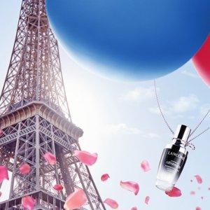 5折起+满额送豪华7件套French Days:Lancome官网 全场大促 快来收小黑瓶、极光水等