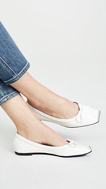 Achira Square Toe 平底鞋