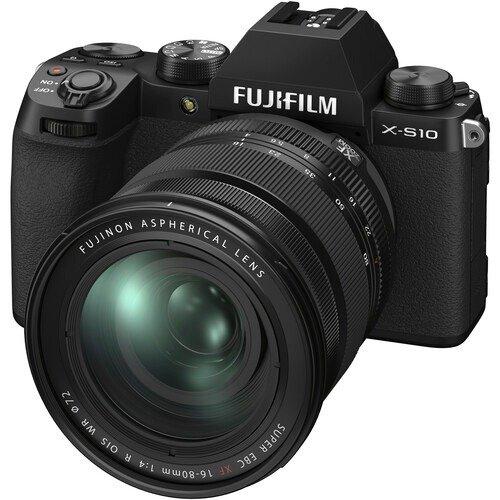 X-S10 + 16-80mm f/4 R