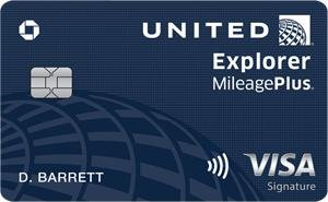 Earn 60,000 Bonus MilesUnited℠ Explorer Card