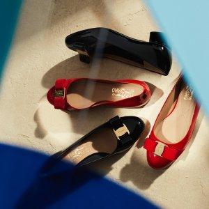 低至2.5折 $244收封面款单鞋Salvatore Ferragamo 时尚热卖 经典必入款斜挎包$431