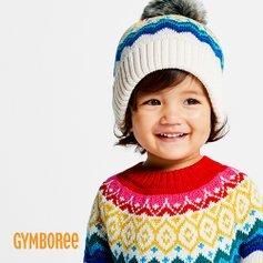 低至4折 封面彩色毛衣$21.99最后一天:gymboree 儿童服饰、鞋履等产品特卖 可爱宝宝装扮起来