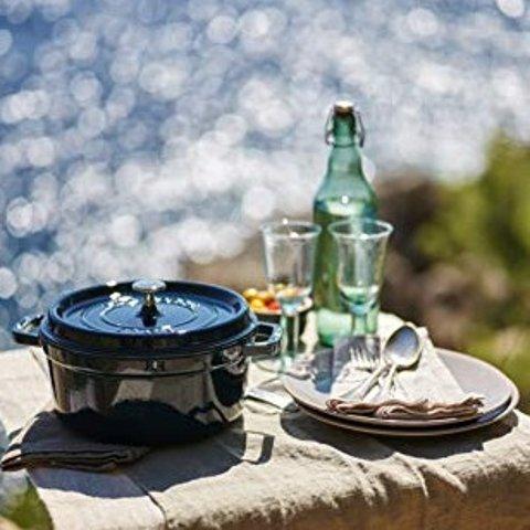 低至5.8折 各种尺寸任选Staub 珐琅铸铁锅热卖 厨房里的好帮手 让你爱上做饭