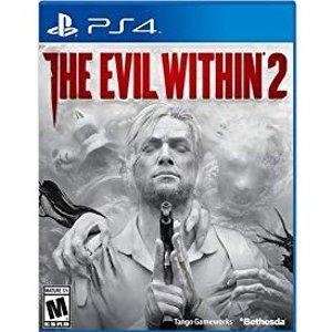 $17(原价$39.99)《恶灵附身2》PS4 实体版 恐怖生存游戏