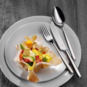 30件套6人份折后€89 原价€149WMF 符腾堡Palma餐具套装 高质量金属材质 洗碗机可用