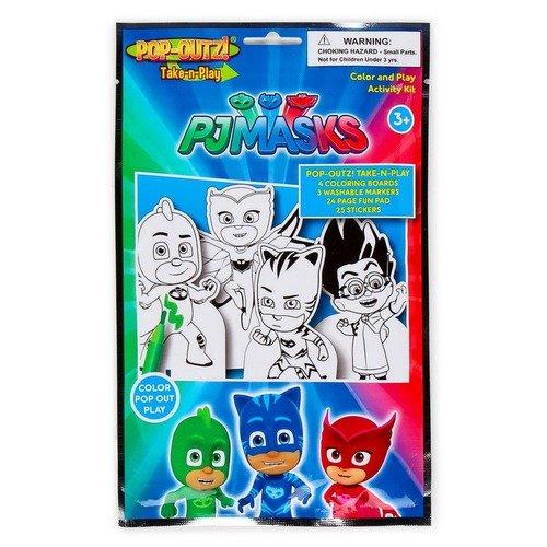 PJ Masks Pop-Outz 涂色玩具