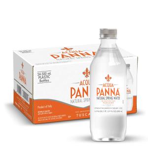 $7.56 每瓶仅$0.31史低价:Acqua Panna 意大利天然矿泉水 16.9Oz 24瓶