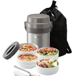 $35.3Zojirushi SL-JAE14SA Mr. Bento Stainless Steel Lunch Jar, Silver @ Amazon