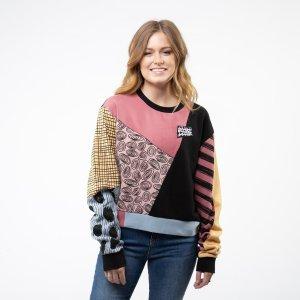 VansWomens Vans x The Nightmare Before Christmas Sally Crew Sweatshirt - Multi