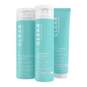 Paula's ChoiceCLEAR Regular Strength Acne Products Kit | Paula's Choice