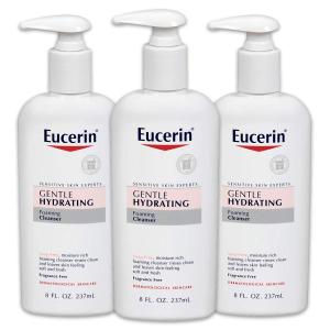 单瓶到手¥30白菜价:Eucerin 敏感肌专用温和保湿洁面乳 237ml