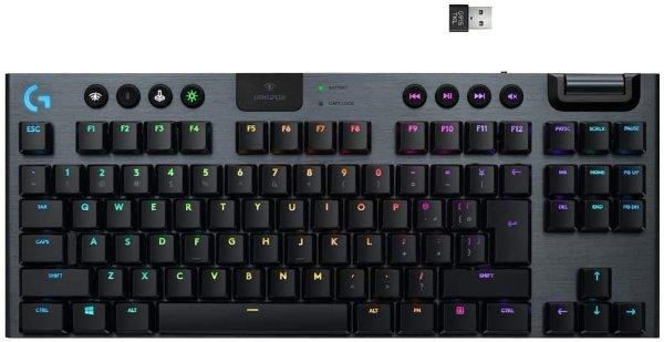 Logitech G915 TKL 旗舰级 无线超薄机械键盘