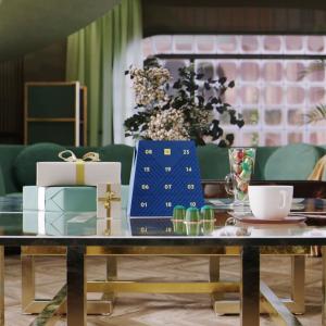 仅售€34.35 包含限定咖啡对杯Nespresso 咖啡胶囊圣诞日历 23颗圣诞风咖啡胶囊
