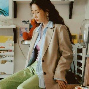 5折起+额外9折 收笑脸夹克W CONCEPT 人气春秋外套专题 小西装、风衣、开衫等