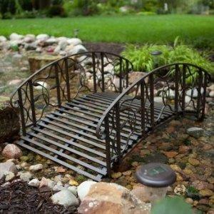 低至5.5折 打造你的小桥流水Hayneedle 精选花园小桥、喷泉等热卖
