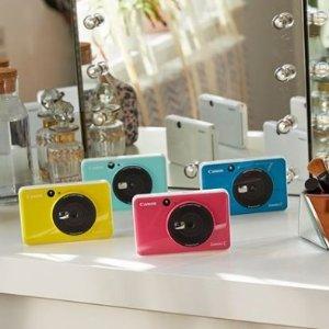 低至8折 £89收玫瑰金照片打印机Zoemini 口袋照相机、便携照片打印机 现场拍照立刻打印