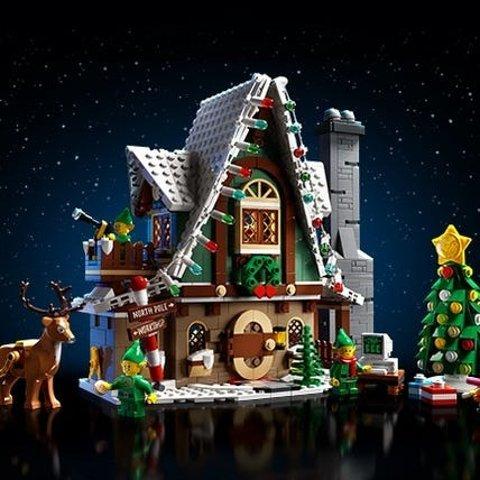 $99.99+GWPLEGO Creator Elf Club House 10275