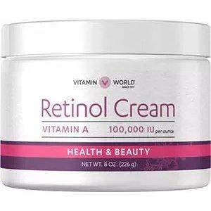 VITAMIN WORLDBOGO + 30% Off $150Retinol Cream | Vitamin A Retinol Cream to Support Healthy Skin
