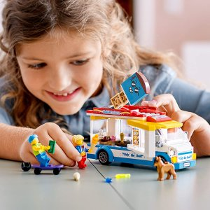 $24.99 冰激凌车LEGO 乐高 60253 城市系列 冰激凌车(200pcs)