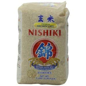 Nishiki高级特选玄米 5磅