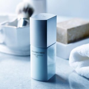 Choose your 7-Piece Skincare Bonus (up to $104 value)With Men's Skin Care @ Shiseido