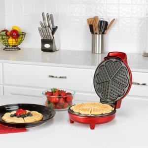 $14.99Kalorik 心形华夫饼机 连早餐都是爱你的形状