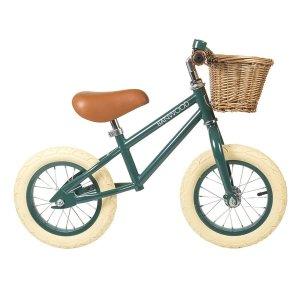 Banwood BikesFirst Go 儿童复古平衡车 森林绿