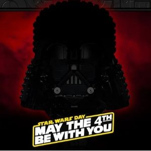 双倍积分+买赠活动预告:LEGO官网 星战日活动,R2-D2新品、俩新头盔作品上市