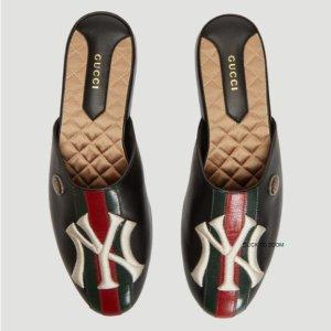 8折 Gucci NY联名拖鞋£564 Prada钱包£140LN-CC 精选大牌热卖 Gucci、Off White、Burberry划算收啦