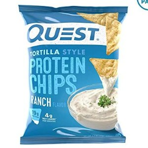 Quest Nutrition Tortilla Style Protein Chips, Ranch, 8 Count