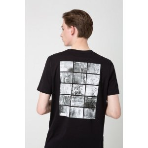 Hugo BossRegular-fit T-shirt with abstract back print