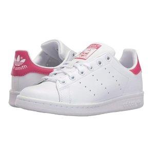 $33.91 adidas Performance Stan Smith J Tennis Shoe (Big Kid) @ Amazon