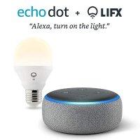 Amazon Echo Dot 第三代 + 智能灯泡