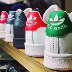 5折起+额外8折 €33淡粉Gazelle系列Adidas 爆款大促 Stan Smith、贝壳头、复古板鞋等你收