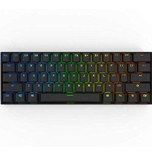 $102.99(原价$169) 黑白两色 多轴可选Anne Pro 2 蓝牙有线双模60%RGB 连方向键都没有的热评键盘