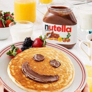 $3.31 童年的味道Nutella 巧克力榛子酱 13 oz