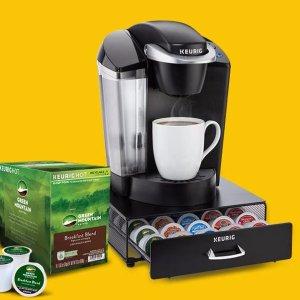 8折几乎全站都参加K-Cup胶囊咖啡、咖啡机、配件最多最全! Keurig官网一日闪购