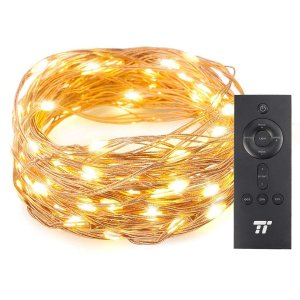 TaoTronics 33 ft 100 LED String Lights With RF Remote Control