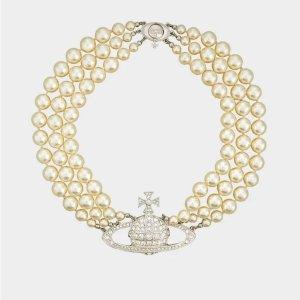 £80起收 爆款三层项链罕见有货Vivienne Westwood官网 珍珠系列 大批新款+补货 超难买!