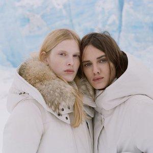 低至5折+额外8.5折最后一天:Woolrich 精选冬季服饰折上折 反季收大毛领外套