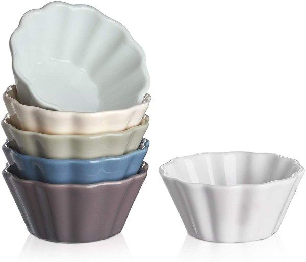 DOWAN 陶瓷小碗6件套