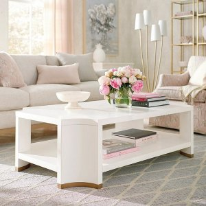 Phoebe White Coffee Table