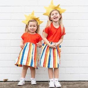$16起Hanna Andersson 超美女童连衣裙促销 收仙女纱裙