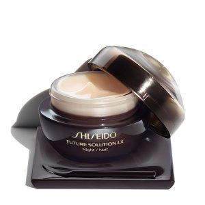$161.1(原价$285) 自营保真Shiseido 时光琉璃臻萃奢养夜霜5.7折热卖