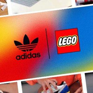 积木鞋盒 趣味十足新品预告:adidas x Lego 即将推出限量合作鞋款ZX 8000